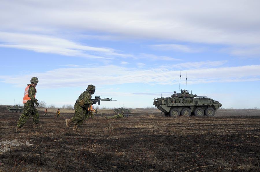 1 CMBG hones warfighting skill on Ex Iron Ram