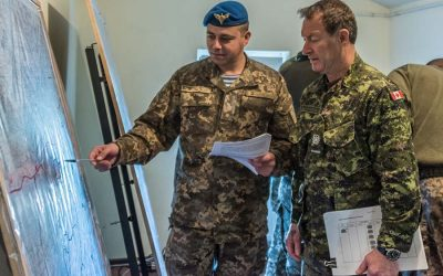Caraquet soldier shares four decades of experience