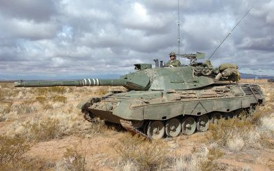 A farewell to the Leopard 1 main battle tank