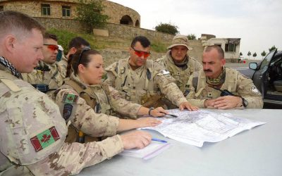 Armoured reconnaissance commanding officer blazes new trail for women