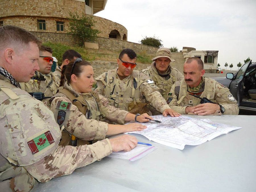 Armoured reconnaissance commanding officer blazes new trail for women