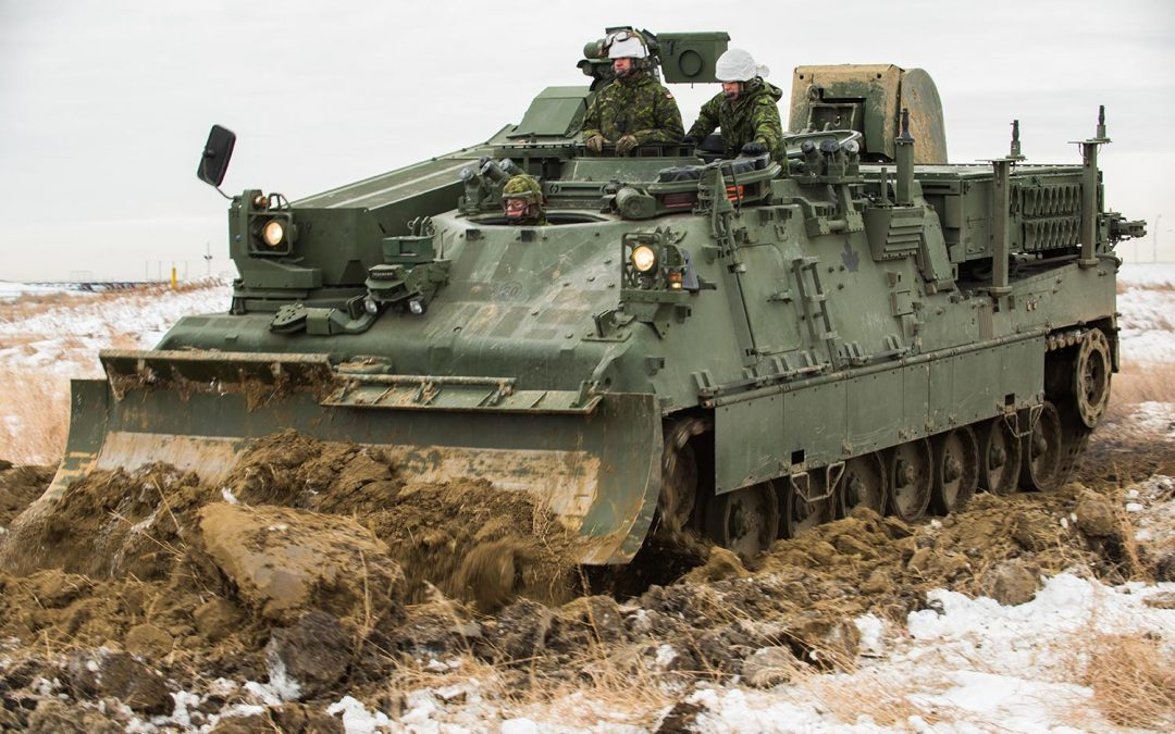 new leopard 2 armoured engineer vehicle is the natural evolution