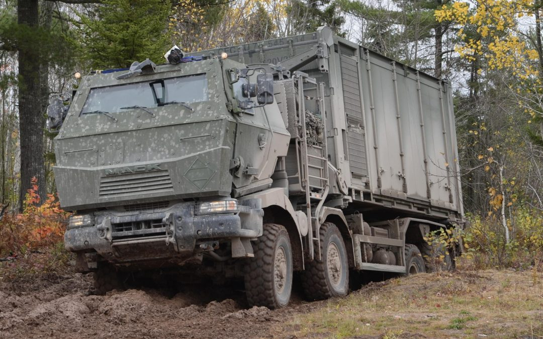 On the Road: Armoured MSVS will enable faster battlefield logistic support