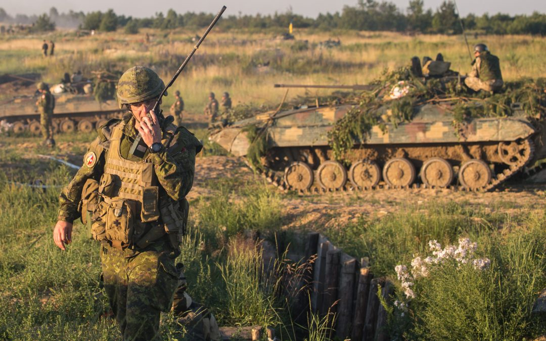 Battle lab: Supporting Ukrainian compatibility provides lessons on hybrid warfare