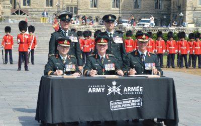New commander: LGen Lanthier assumes Army command from LGen Wynnyk