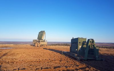 Locked on: New radar gives artillery weapon location and air surveillance
