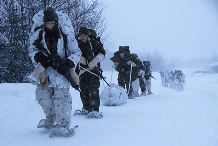 Exercise Siberian Husky prepares Arctic Response Company Group