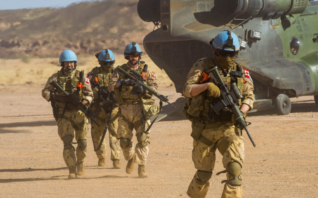 Force protection in Mali: Infantry on the ground, medics in the air