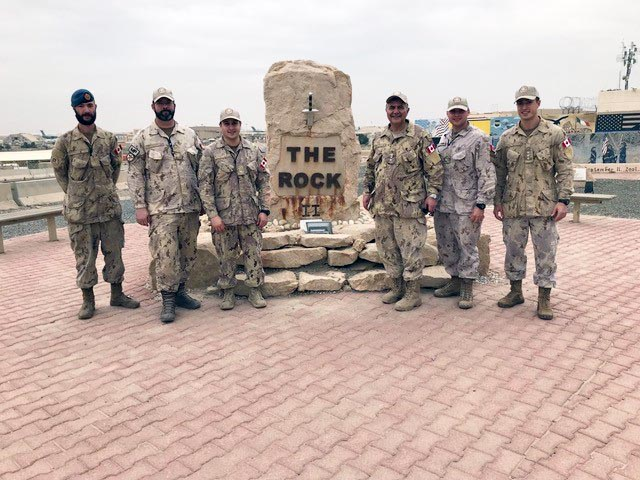 Army honorary colonel comes 'full circle' with visit to Iraq