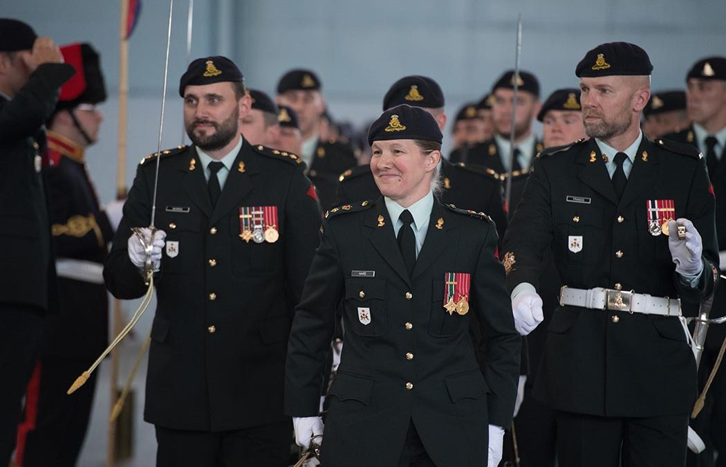 LCol Kathy Haire first woman commandant of The Royal Regiment of Canadian Artillery School