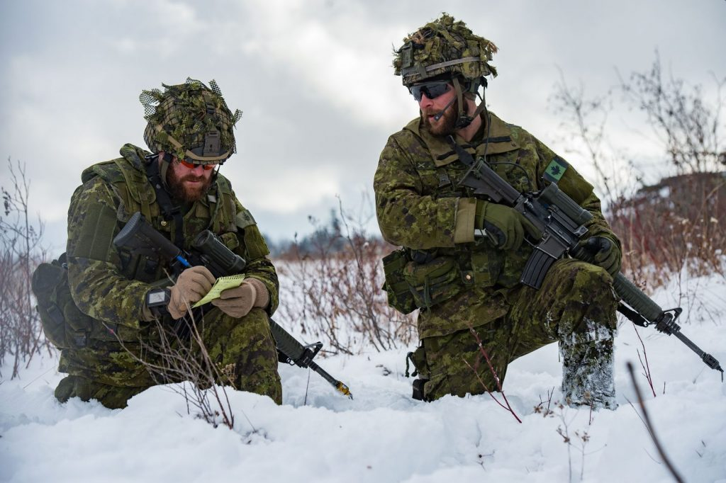 A tests of combat arms leadership   Canadian Army Today