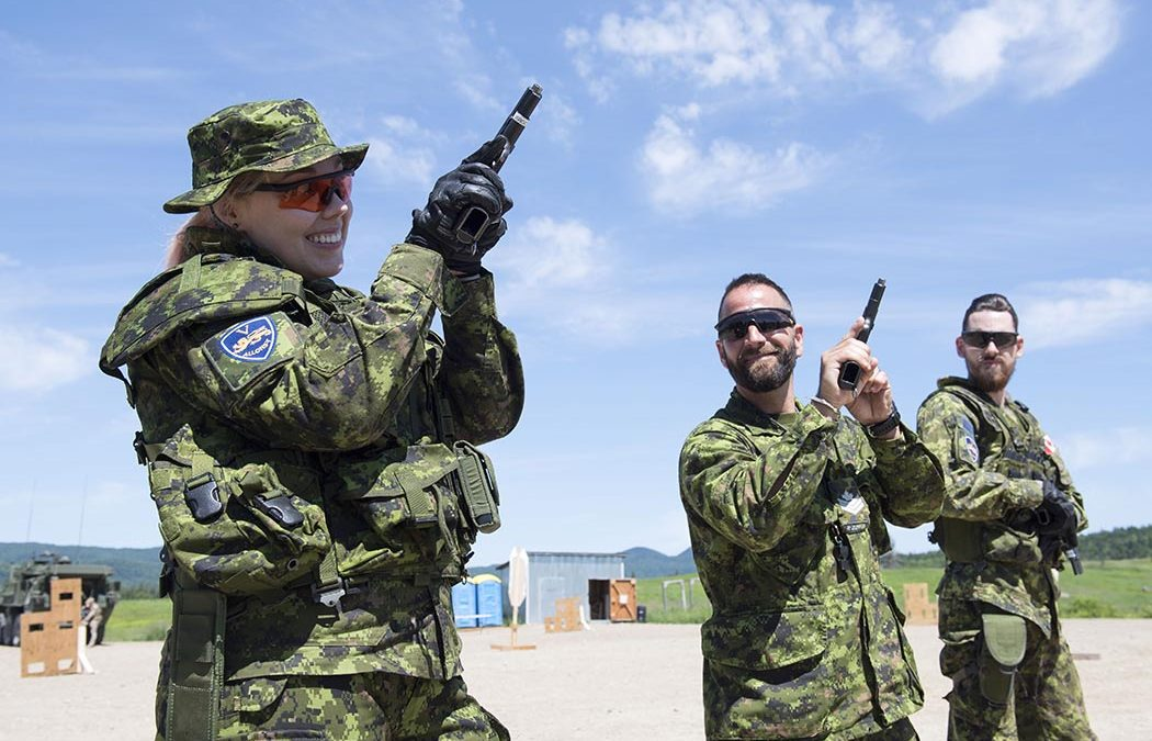 A video game champion tests reality at Valcartier