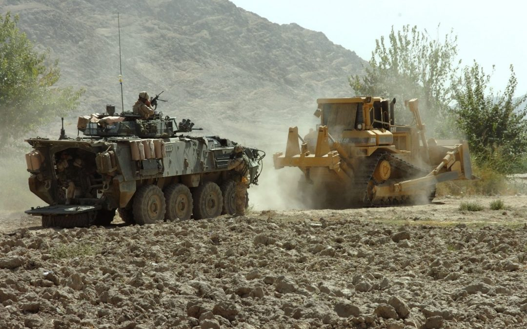 Heavy load: Replacing the Army's bulldozers and backhoes