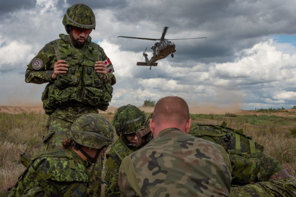 canadian army basic training what to expect