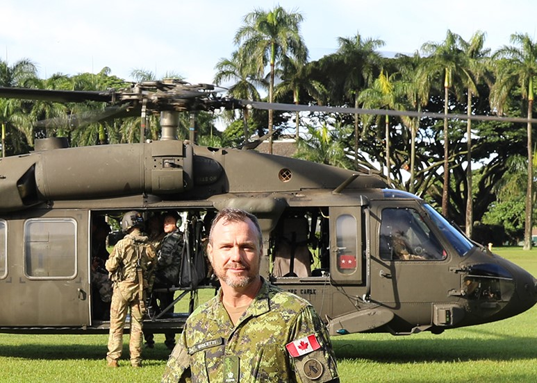 Defence diplomat: The Army's first officer in U.S. Army Pacific Headquarters