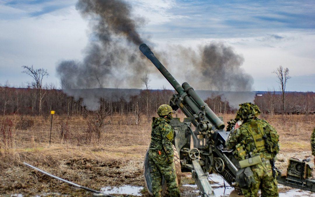 Artillery strikes 150