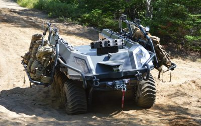 Ground trials: Soldiers to test UGV applications