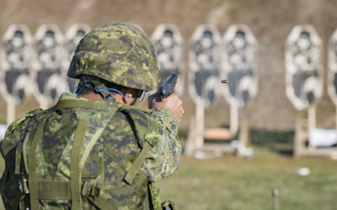 Special Forces pistol discharge not caused by technical failure